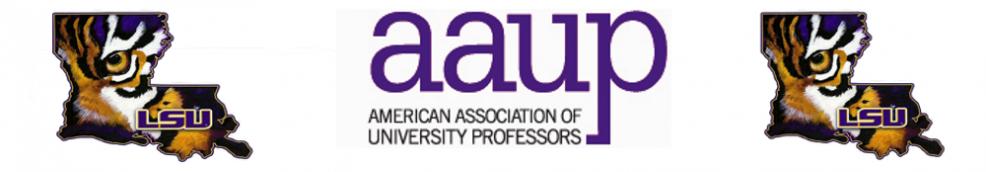 AAUP of LSU