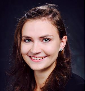 Image shows Karin Bichler, a PhD student in the group of Gerald Schneider