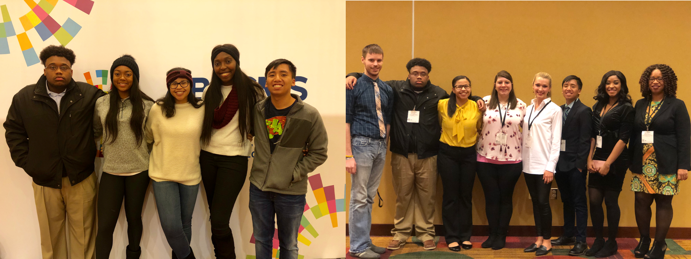 IMSD Scholars attending ABRCMS conference in Indianapolis, Indiana