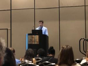 John presenting at NAN