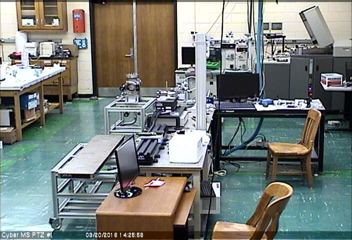 PTZ Cam 1 with a view of the lab